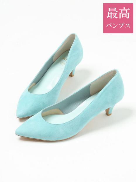 【最高パンプス・5cmヒール】美脚×快適 fluffy fit パンプス