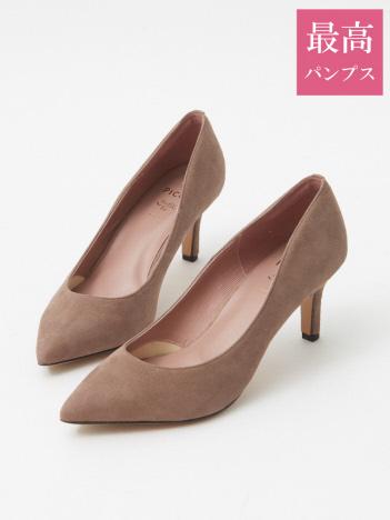 【最高パンプス/7cmヒール】美脚×快適 fluffy fit パンプス