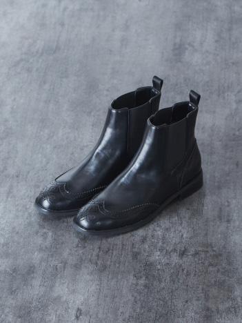 Au BANNISTER - 【WEB限定/晴雨兼用】サイドゴアブーツ【予約】