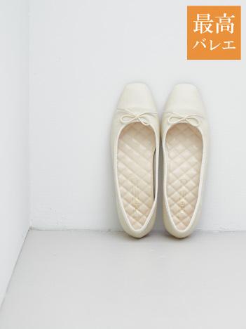 PICHE ABAHOUSE - 【最高バレエ】ソフトスクエアトゥ バレエシューズ【予約】