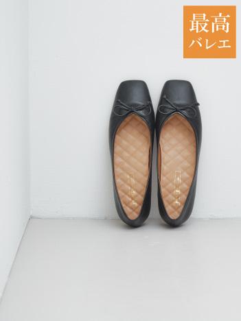 PICHE ABAHOUSE - 【最高バレエ】スクエアトゥ バレエシューズ【予約】