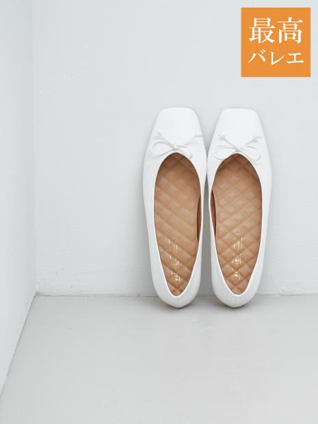 【最高バレエ】スクエアトゥ バレエシューズ【予約】