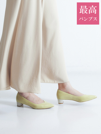 【最高パンプス】美脚×快適 3cmヒール パンプス