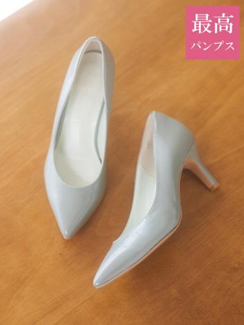 PICHE ABAHOUSE - 【最高パンプス】美脚×快適 7cmヒール 最高パンプス【予約】