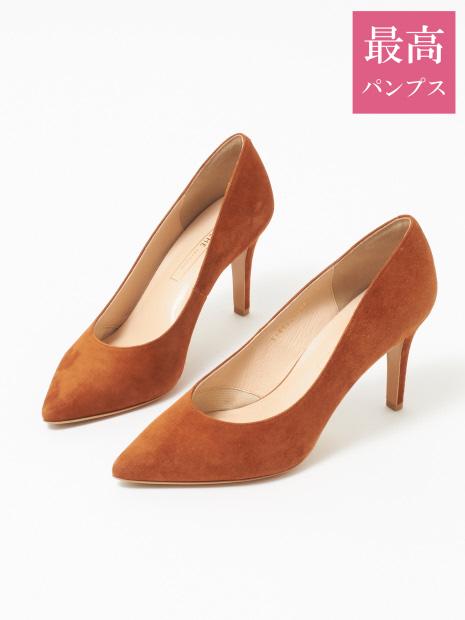 【最高パンプス/8.5cmヒール】美脚×快適 パンプス