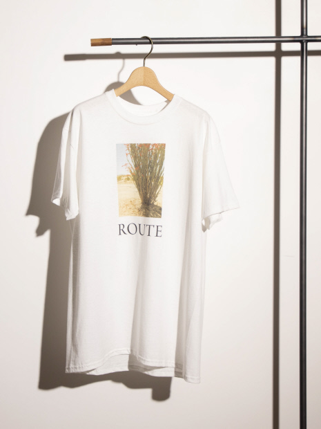 【Emiri Henmi×Yuji Takeuchi×LAROUTE】Collaboration Photo T-shirt