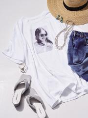 【LAROUTE×YUJI TAKEUCHI】Collaboration Photo T-shirt