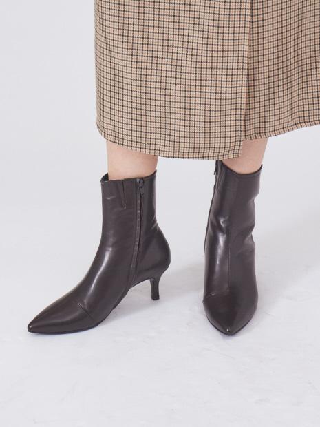 【最高ブーツ/ミラノ】ポインテッドトゥブーツ
