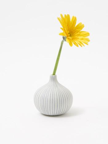 collex - フラワーベース drop vase dot
