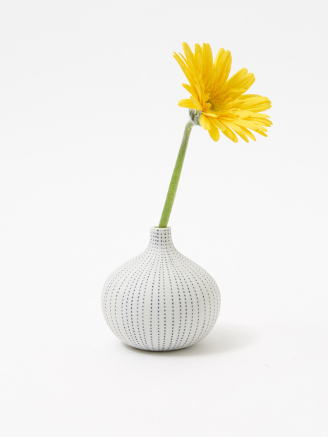 フラワーベース drop vase dot