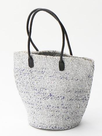 メタルプラスティックサイザル トートバッグ