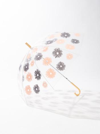 collex木ハンドルビニール傘フラワー
