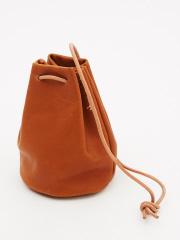 collex - 【MORMYRUS】ソフトレザー巾着BAG
