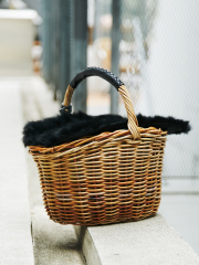 collex - ONE HANDLE BASKET FUR付