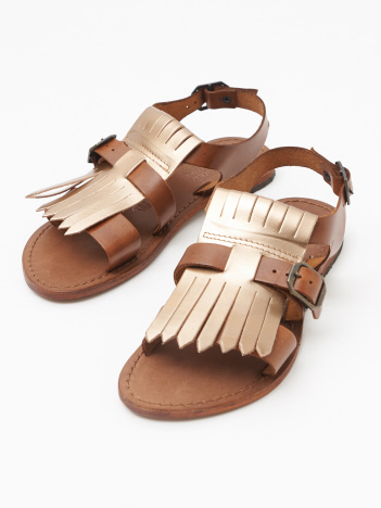 EDER LEATHER SANDAL