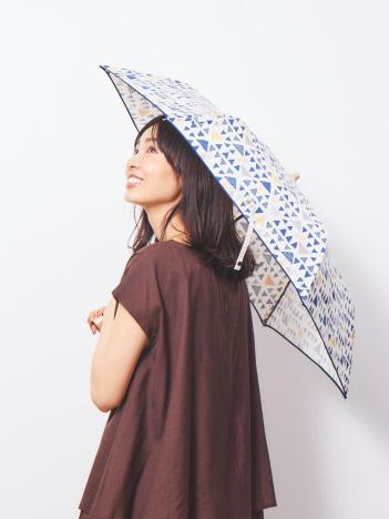 【晴雨兼用】折たたみ傘トライアングル
