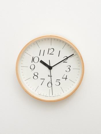collex - 【LEMNOS/レムノス】 RIKICLOCK 掛け時計Φ203mm