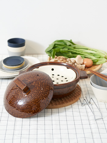 collex - 【長谷園】ビストロ蒸し鍋小 2~3人用