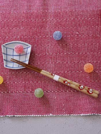 collex - 【マツ勘】花づくし箸 椿22.5cm