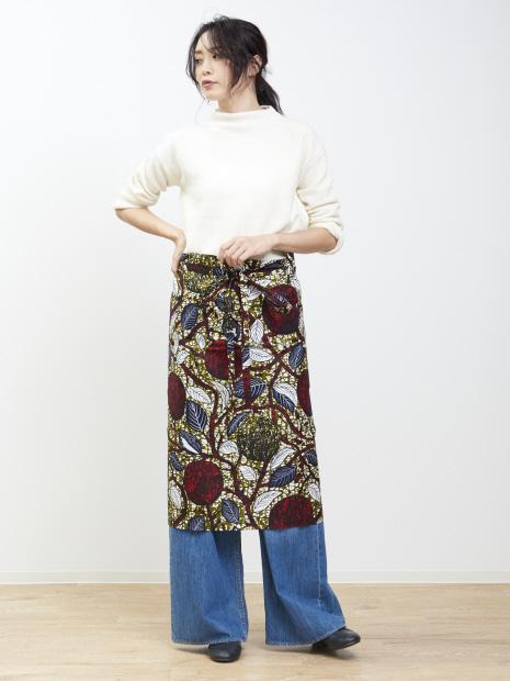 【KANGA】エプロンスカート