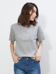collex - BIWACOTTON CrewNeck Pocket T