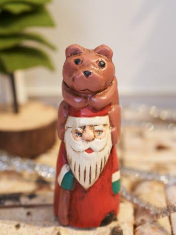 【KOPI PANAS/コピパナス】santa with bear S