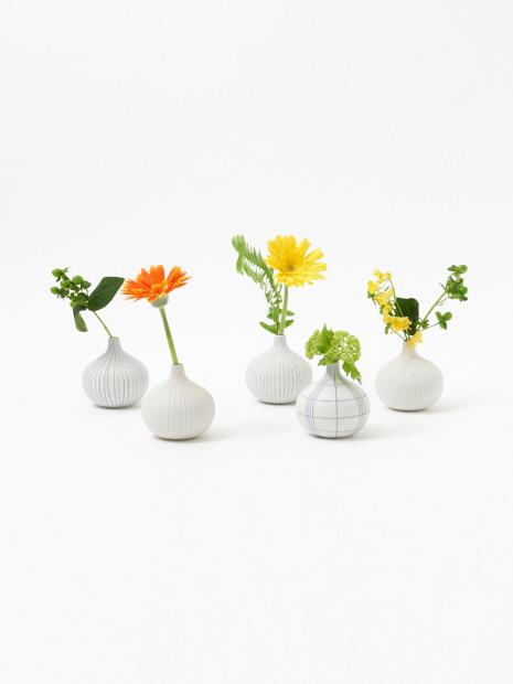 フラワーベース dorop vase dotline