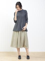 collex - 切り替えミディアムスカート
