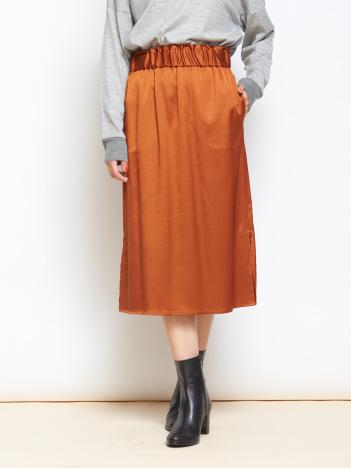 collex - collex サテンスカート