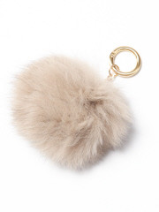 collex - CLX FOX FUR POMPOM