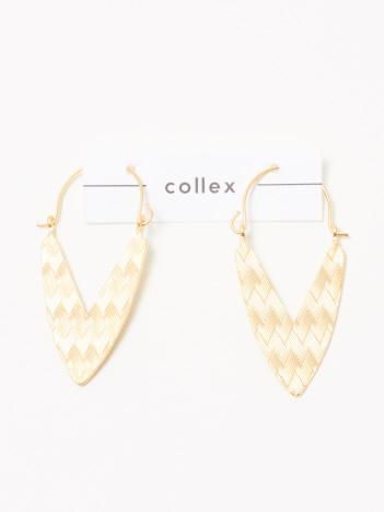 collex - エスニック風 V字マットピアス