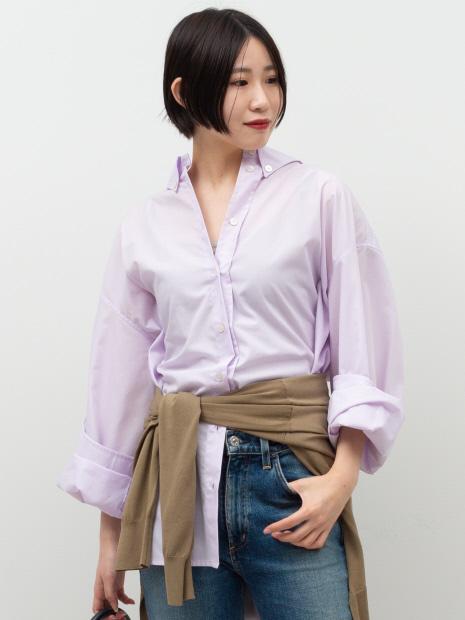 【ERIKA CAVALLINI】ボタンダウンシャツ