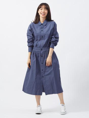 【yarmo】シャツドレス