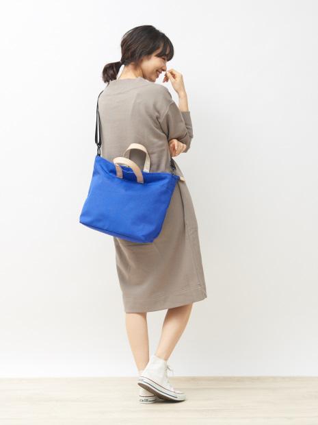 【THE CASE/ 別注】新色追加!軽量 A4サイズ収納可 2WAYトートバッグ