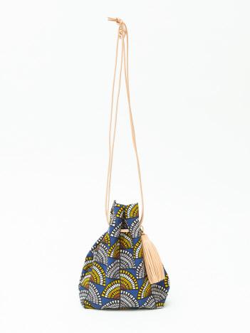 collex - 【MORMYRUS】総柄パターン 巾着 バッグ