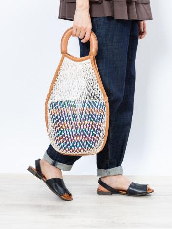 collex - 【TIDI DAY / ティディデイ】 バスケット付きネットバッグ