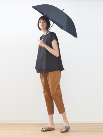 スカラップ兼用長傘