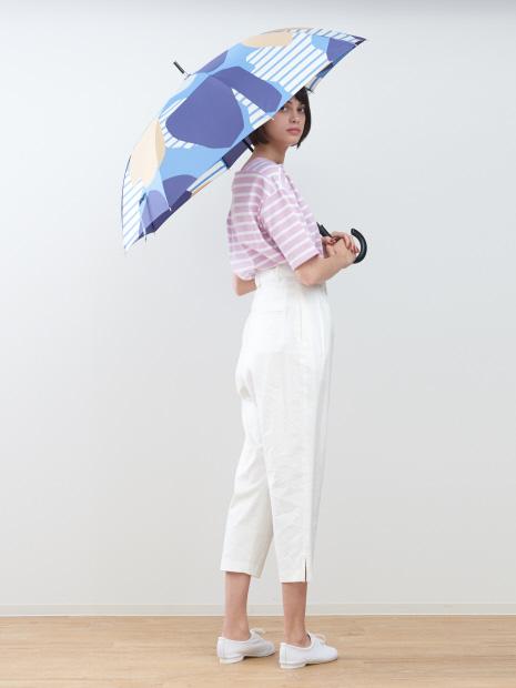 【KiU×collex 】【晴雨兼用】ジャンプ長傘