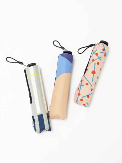 【KiU×collex 】【晴雨兼用】エアライト折りたたみ傘