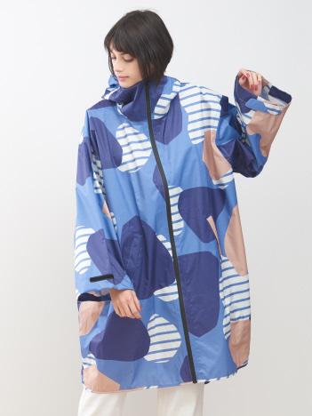 KiU×collex 袖付ポンチョ