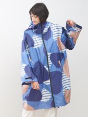 collex - KiU×collex 袖付ポンチョ