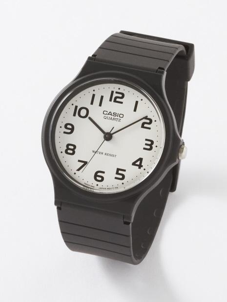 【CASIO】クォーツアナログベーシックウォッチ 腕時計