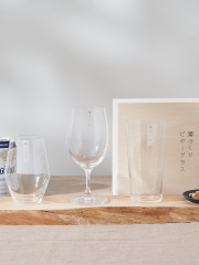 【東洋佐々木ガラス 】薄づくりビヤーグラスセット