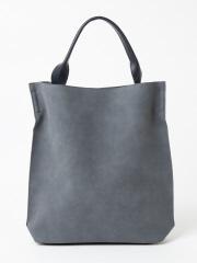 collex - ワンハンドルスエードバッグ