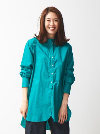 OUTLET (Ladie's) - 製品染めチュニックシャツ