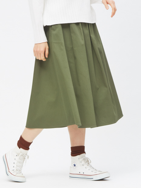 トリコチンミモレスカート【予約】
