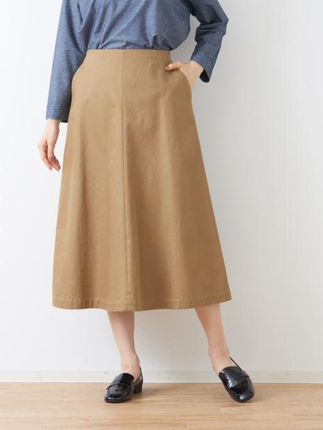 トラペーズラインスカート