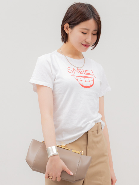 【Re/Done】CLASSIC TEE61 SMILE Tee