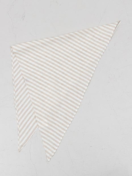 【CLYDE】リネン三角形スカーフ
