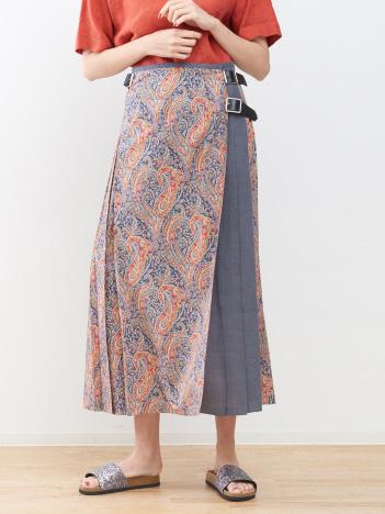 ONEIL 別注プリーツロングスカート